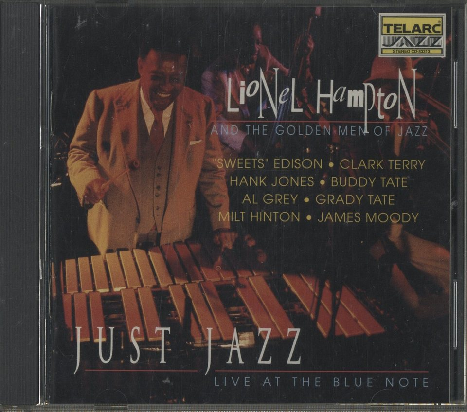 JUST JAZZ ・ LIVE AT THE BLUE NOTE /LIONEL HAMPTON LIONEL HAMPTON 画像