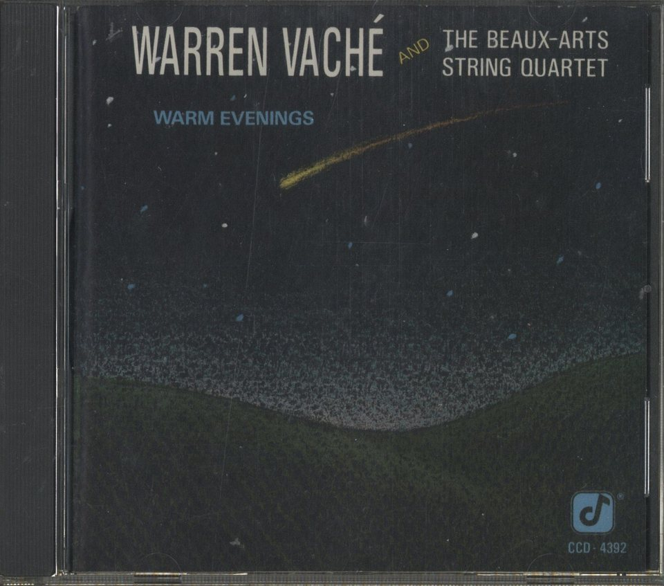 WARM EVENINGS/WARREN VACHE WARREN VACHE 画像