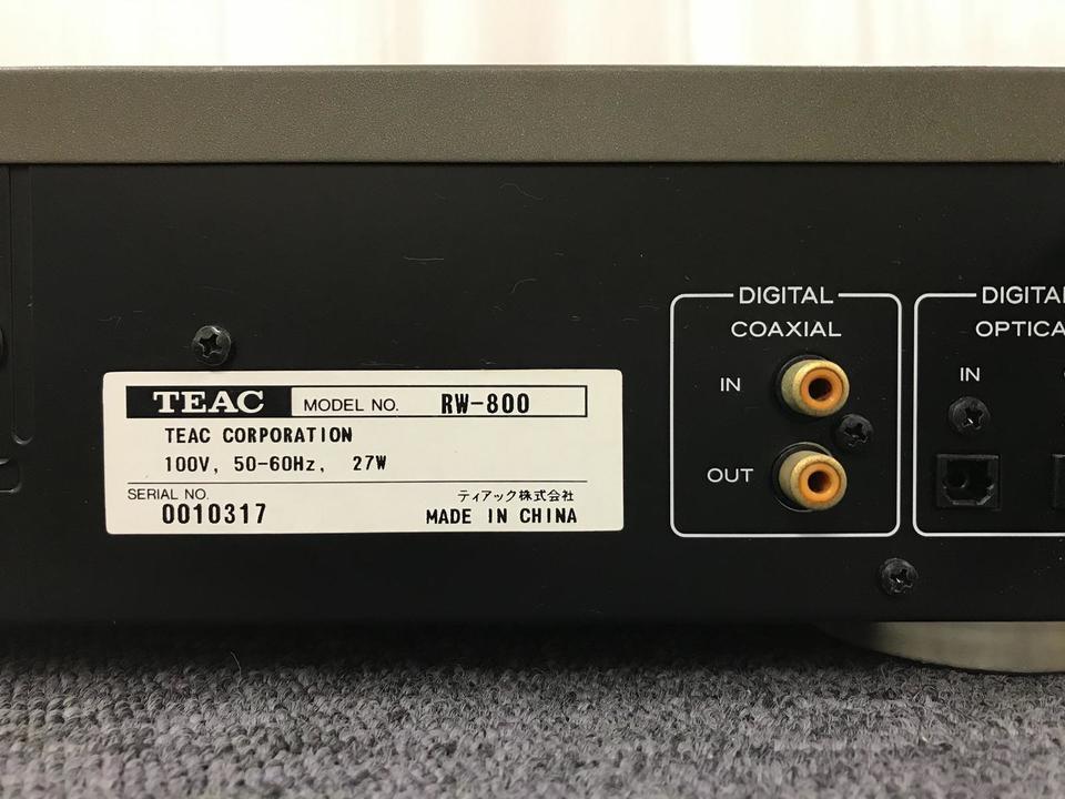 RW-800 TEAC 画像