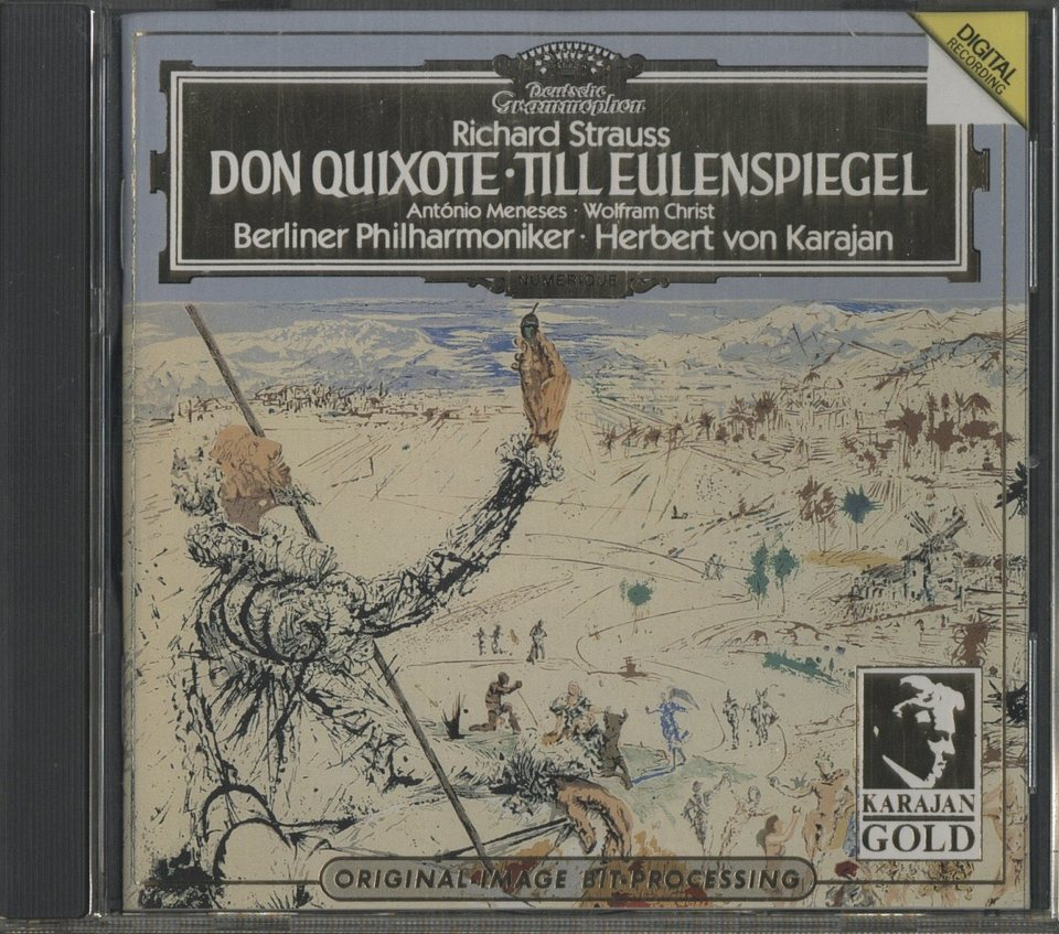 R.シュトラウス:交響詩「ドン・キホーテ」「ティル・オイレンシュピーゲルの愉快ないたずら」 R.シュトラウス 画像