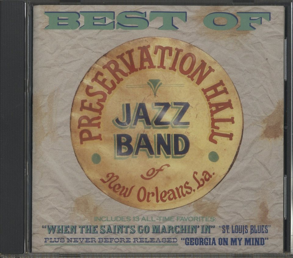 BEST OF PRESERVATION HALL JAZZ BAND PRESERVATION HALL JAZZ BAND 画像