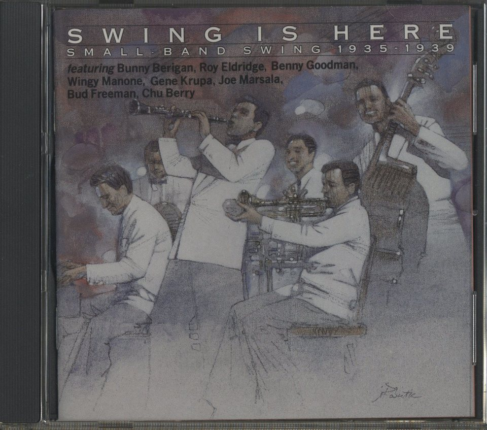 SWING IS HERE SMALL-BAND SWING 1935-1936 V.A. 画像