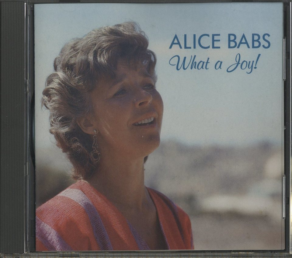 WHAT A JOY!/ALICE BABS ALICE BABS 画像
