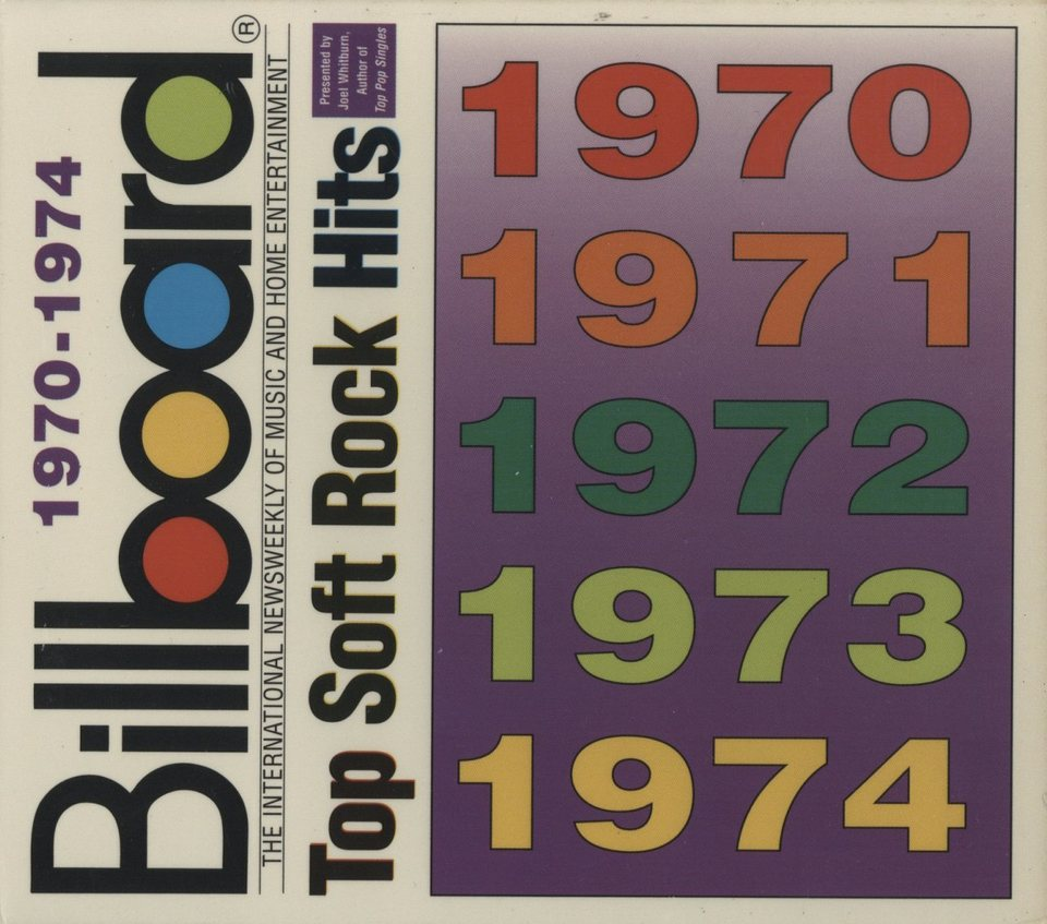 1970-1974 BILLBOARD TOP SOFT ROCK HITS V.A. 画像