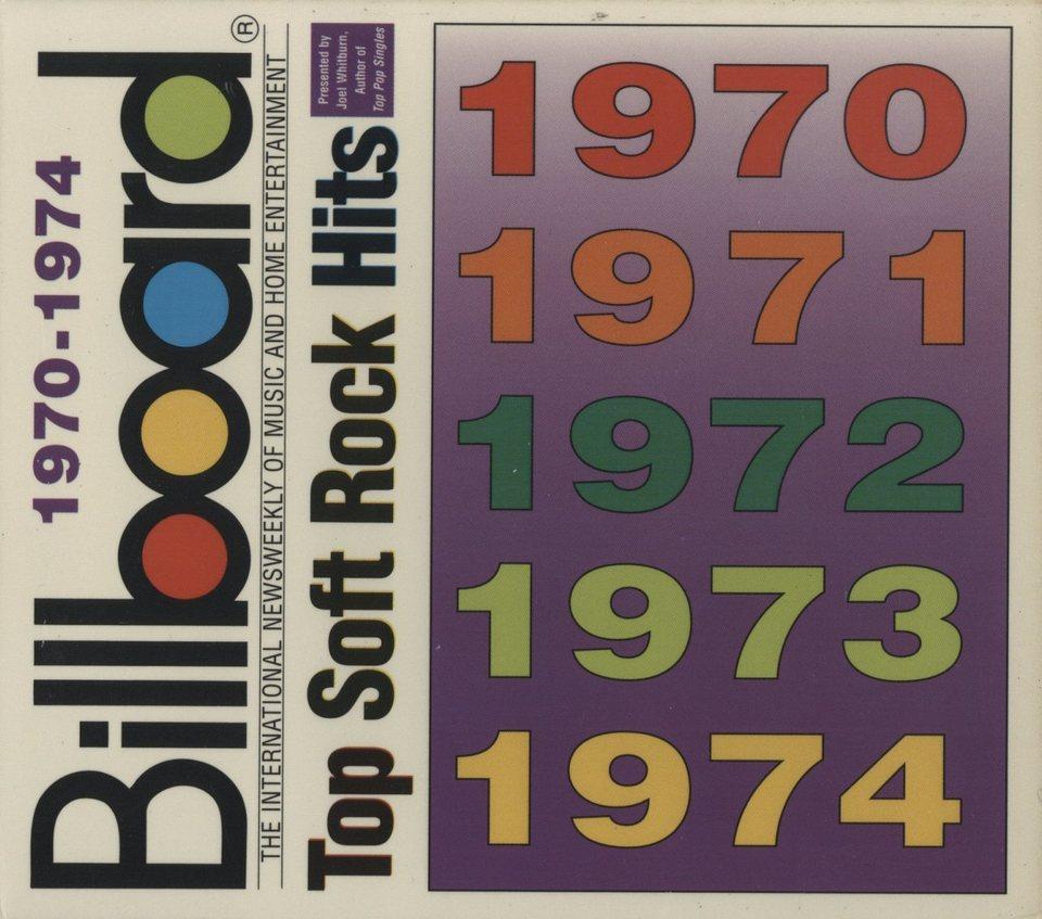 1970-1974 BILLBOARD TOP SOFT ROCK HITS V.A. 画像