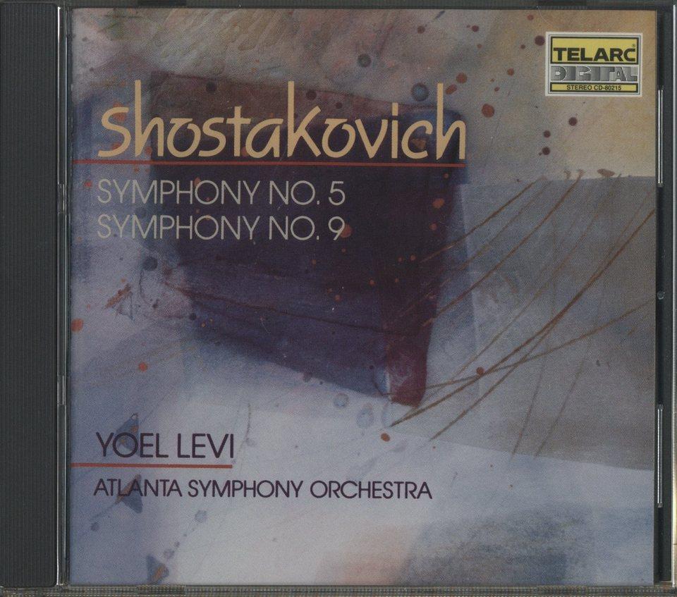 ショスタコーヴィチ:交響曲第5番、第9番 ショスタコーヴィチ 画像