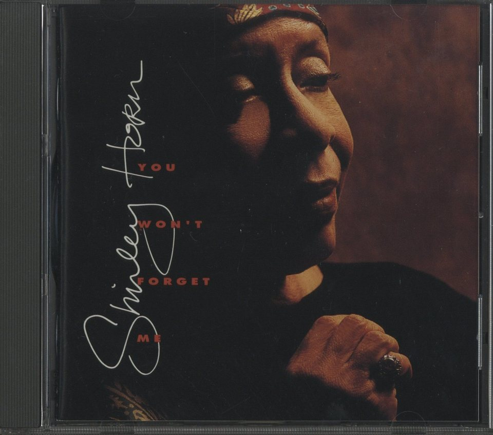 YOU WON'T FORGET ME/SHIRLEY HORN SHIRLEY HORN 画像