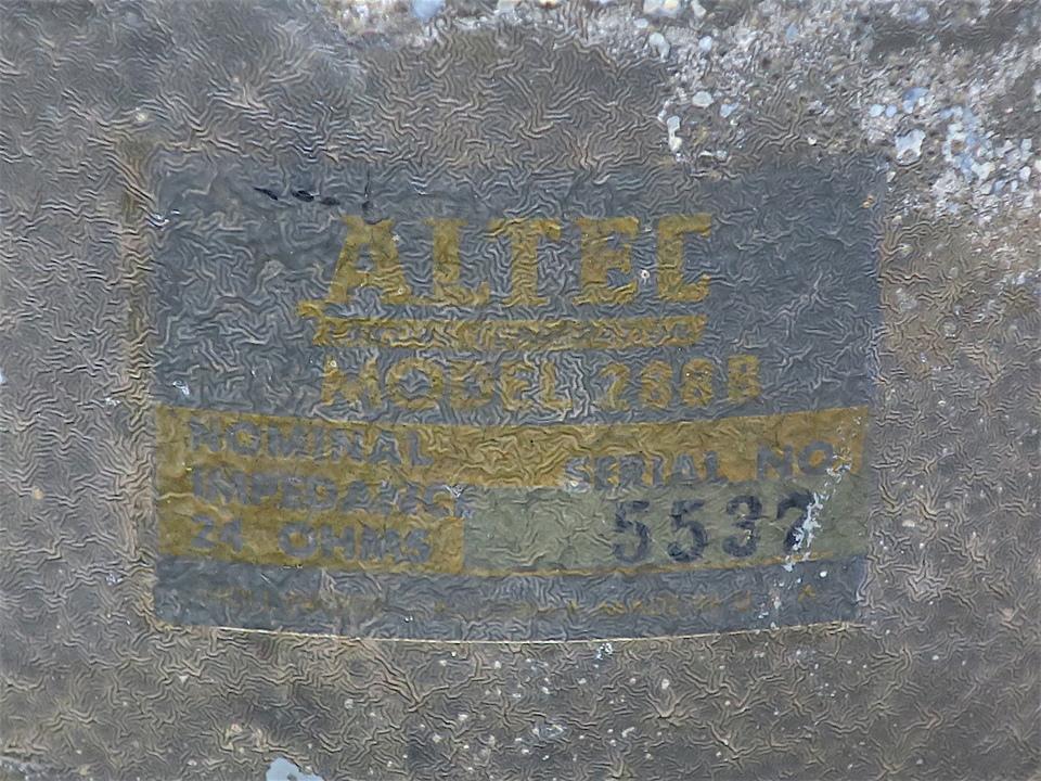 288B ALTEC 画像