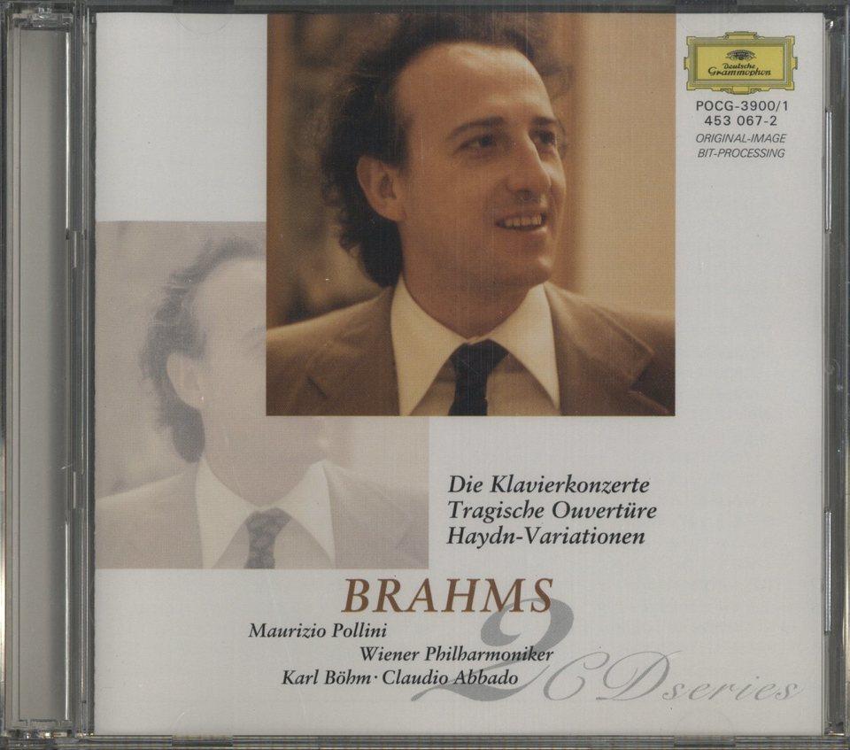 ブラームス:ピアノ協奏曲第1番、第2番 他 ブラームス 画像