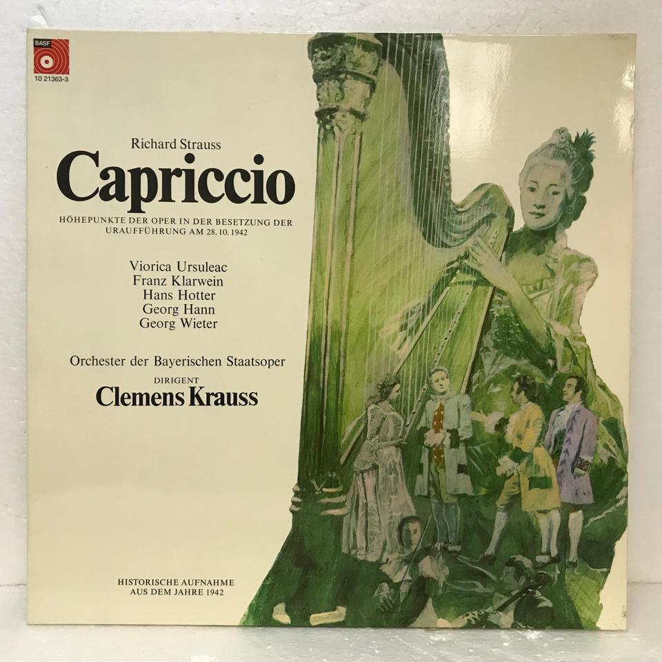 R.シュトラウス:歌劇「カプリッチョ」 R.シュトラウス 画像