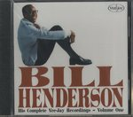 【未開封】HIS COMPLETE VEE-JAY RECORDINGS - VOLUME ONE/BILL HENDERSON