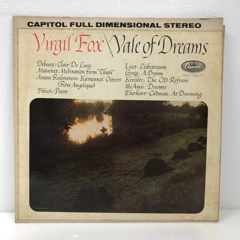 VALE OF DREAM/VIRGIL FOX ドビュッシー/リスト 他 画像