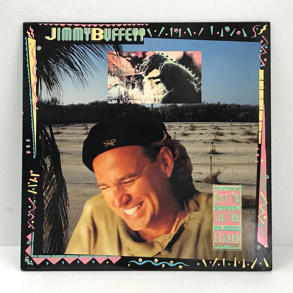OFF THE SEE THE LIZARD/JIMMY BUFFETT JIMMY BUFFETT 画像