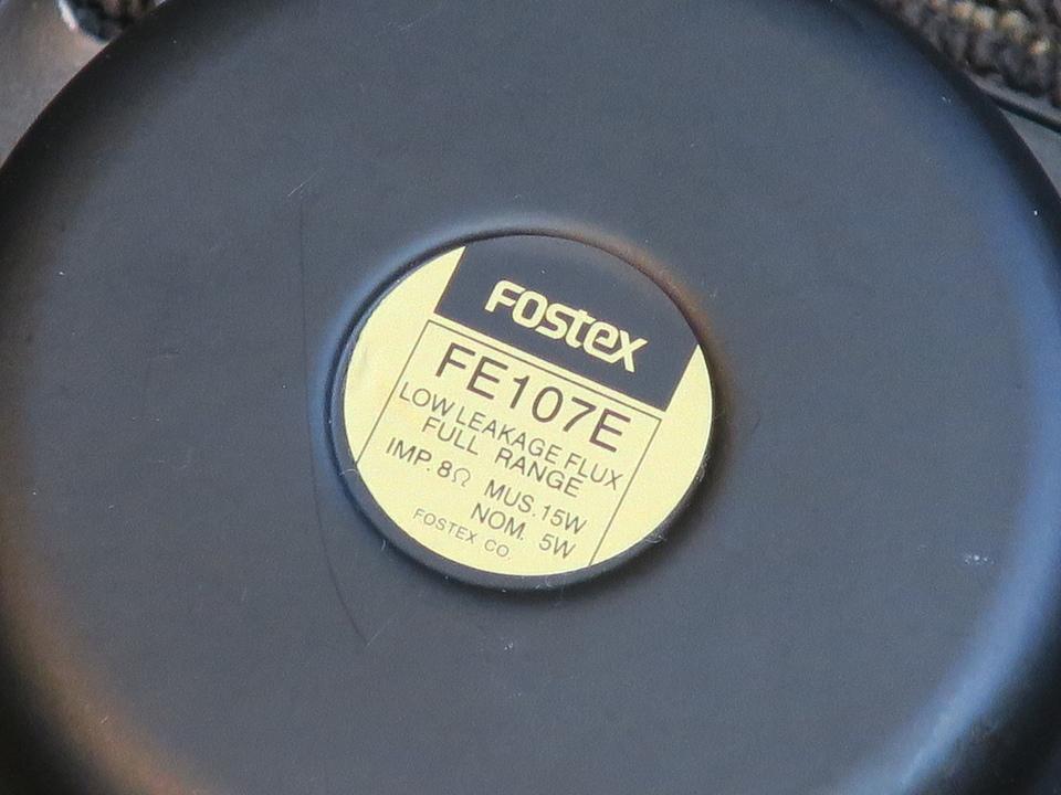 FE107E FOSTEX 画像