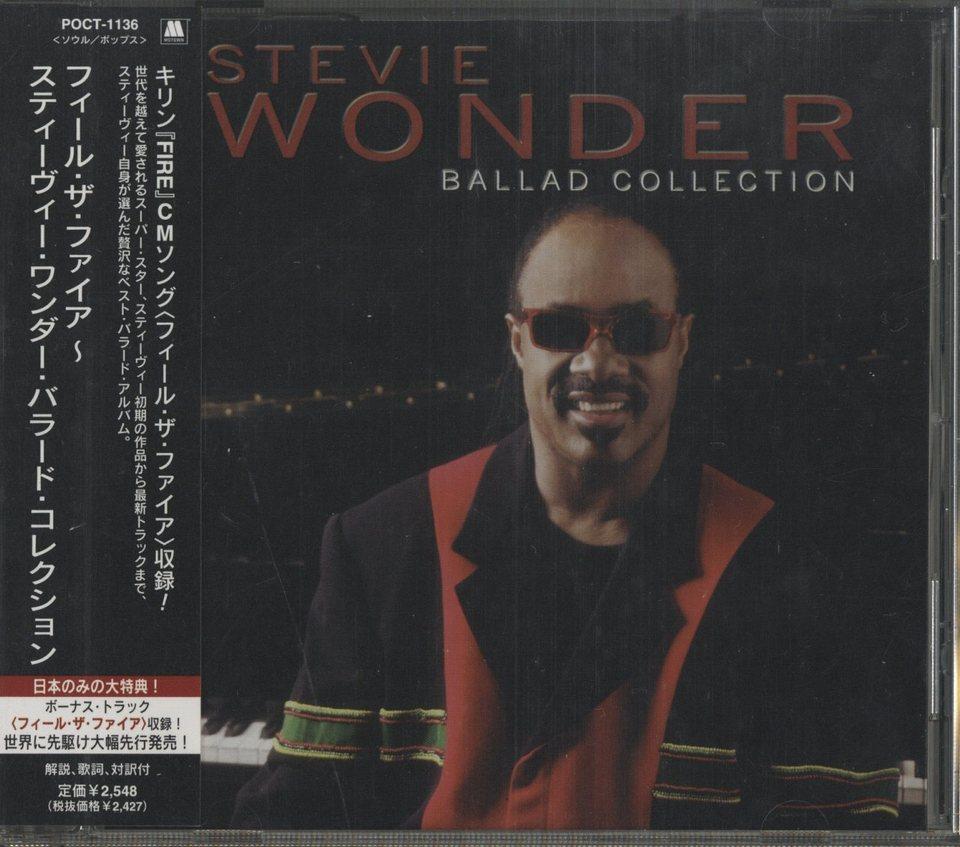 BALLAD COLLECTION/STEVIE WONDER STEVIE WONDER 画像