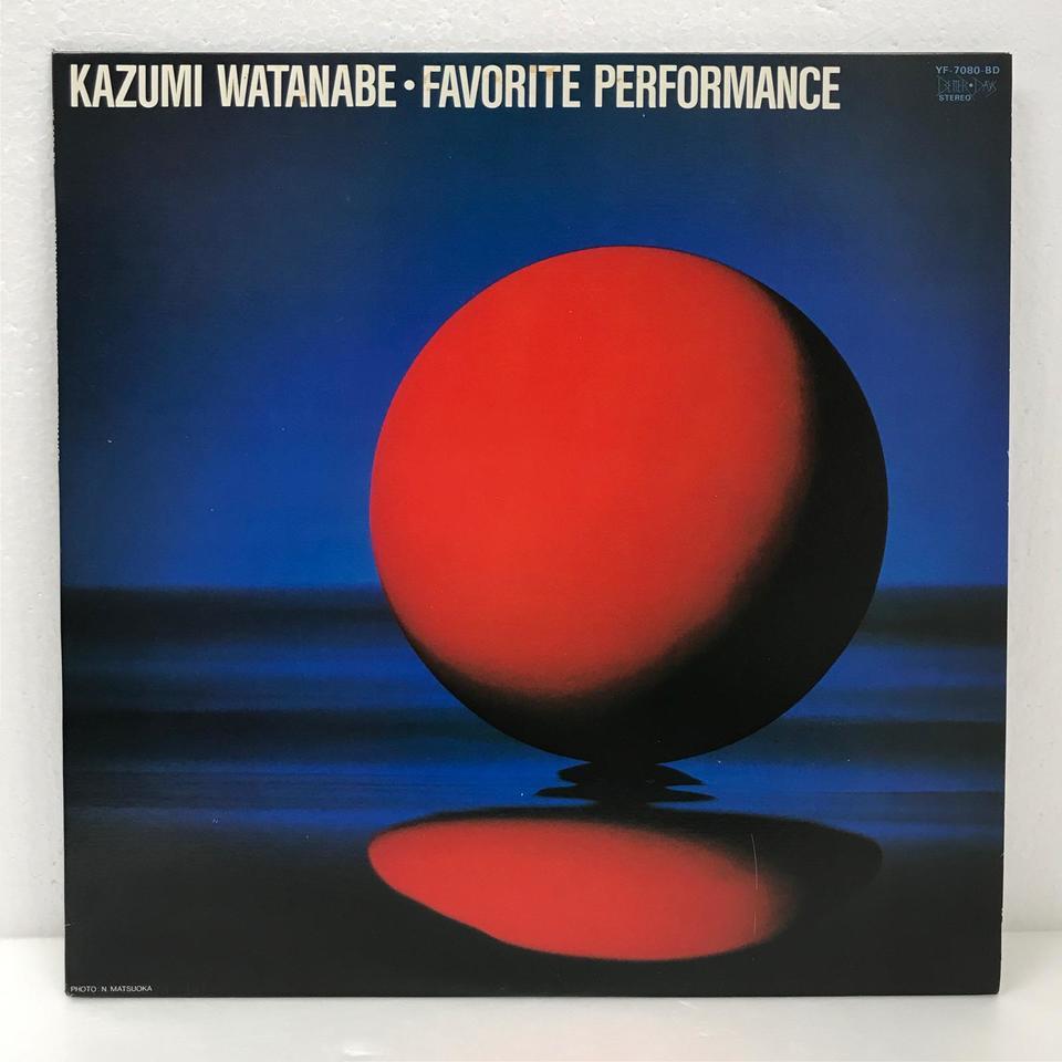 FAVORITE PERFORMANCE/KAZUMI WATANABE 渡辺香津美 画像