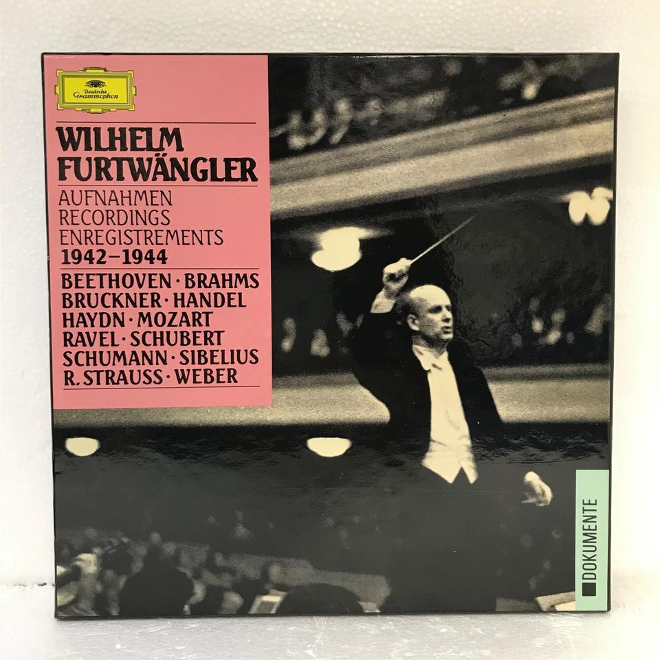 WILHELM FURTWANGLER RECORDINGS 1942-1944 ベートーヴェン/ブラームス/ブルックナー他 画像