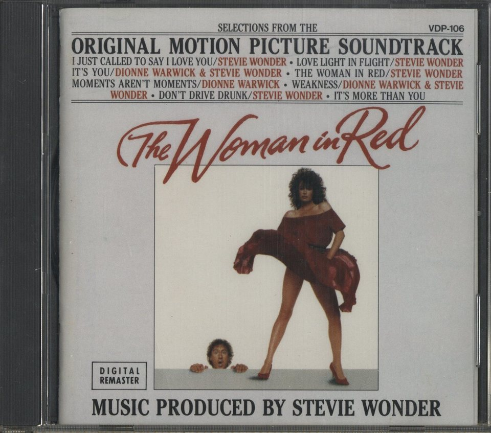 SELECTIONS FROM THE ORIGINAL MOTION PICTURE SOUNDTRACK THE WOMAN IN LED/STEVIE WONDER STEVIE WONDER 画像