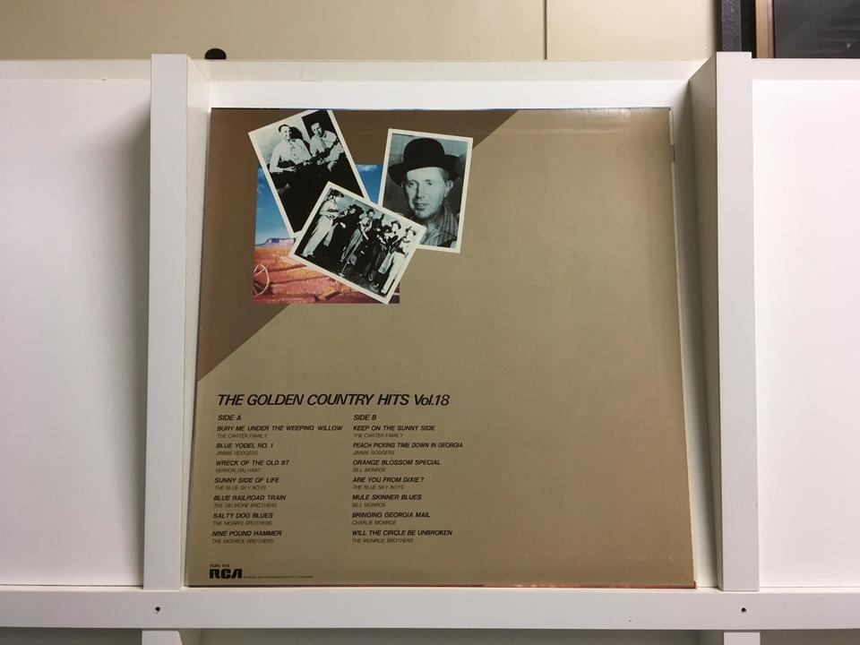THE GOLDEN COUNTRY HITS7枚セット  画像