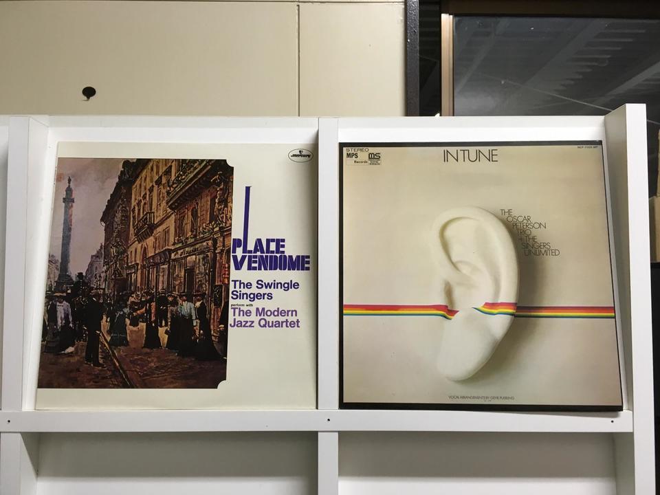 ジャズ コーラス5枚セット  画像