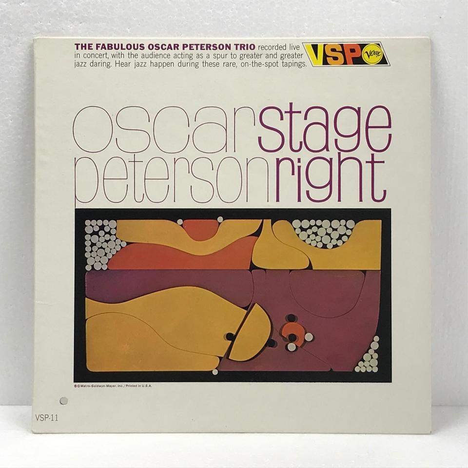 STAGE RIGHT/OSCAR PETERSON OSCAR PETERSON 画像