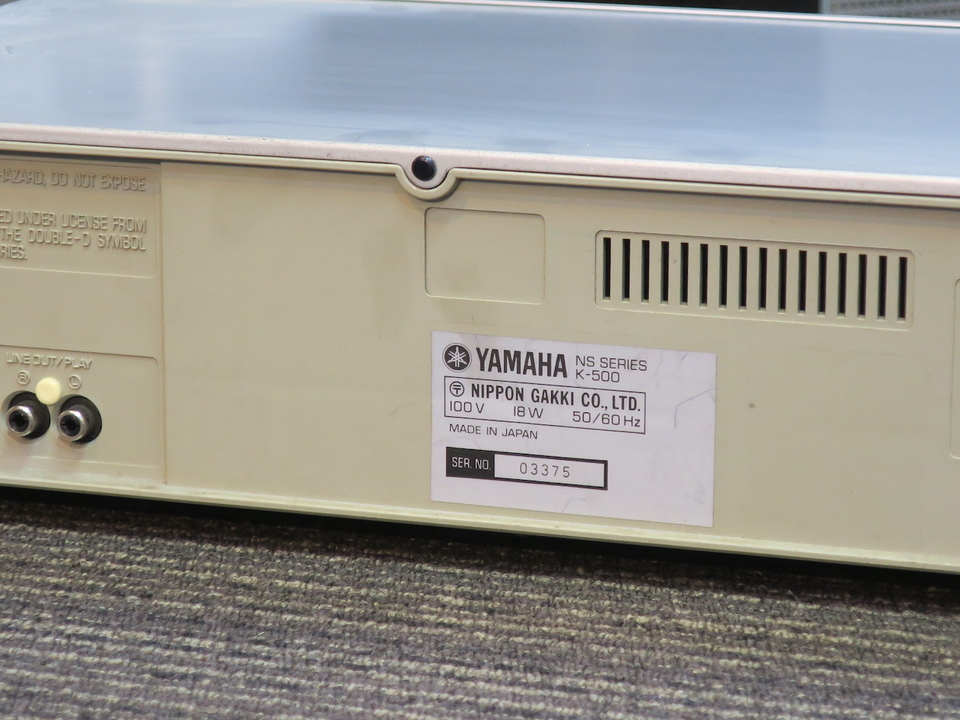 K-500 YAMAHA 画像