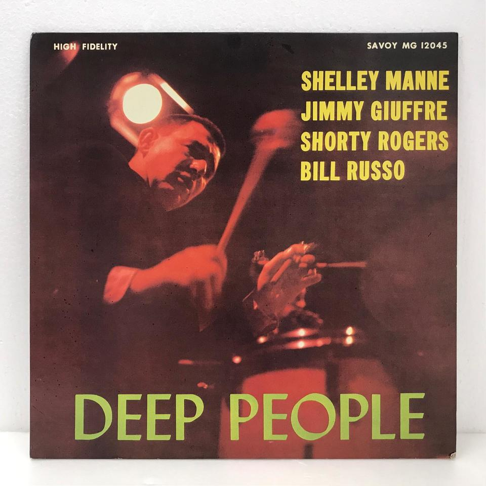 DEEP PEOPLE/SHELLY MANNE SHELLY MANNE 画像