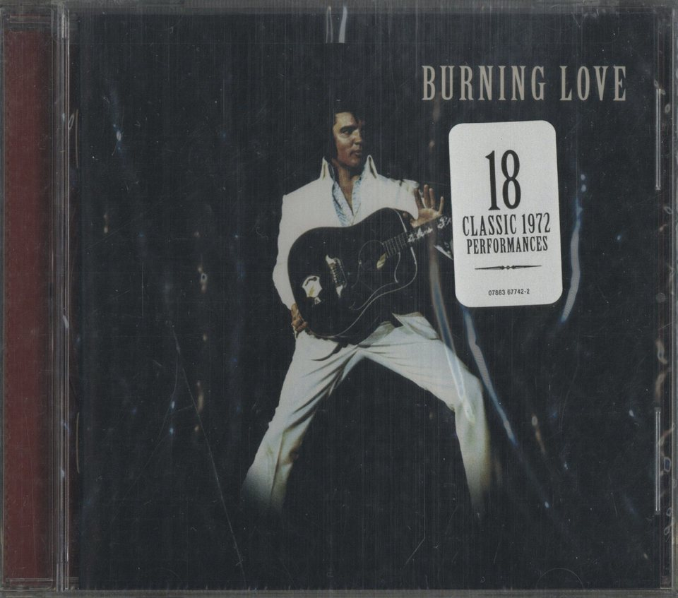 【未開封】BURNING LOVE/ELVIS PRESLEY ELVIS PRESLEY 画像