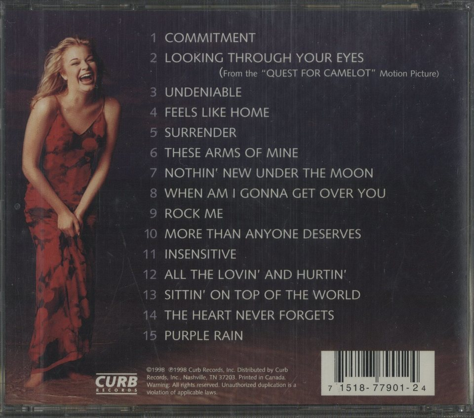 SITTIN' ON TOP OF THE WORLD/LEANN RIMES LEANN RIMES 画像