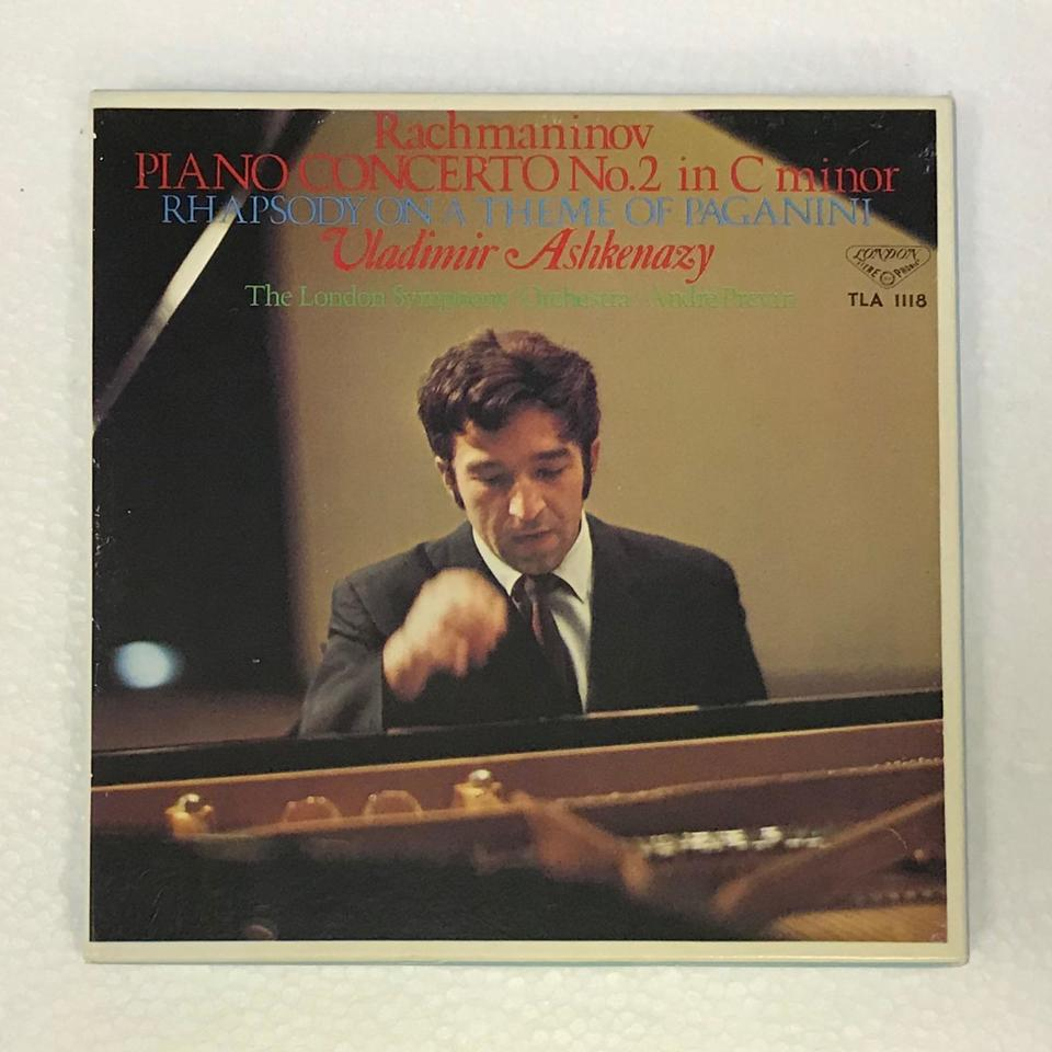 ラフマニノフ:ピアノ協奏曲第2番、パガニーニの主題による狂詩曲  画像
