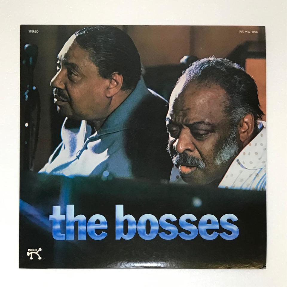THE BOSSES/COUNT BASIE COUNT BASIE(p,org) 画像
