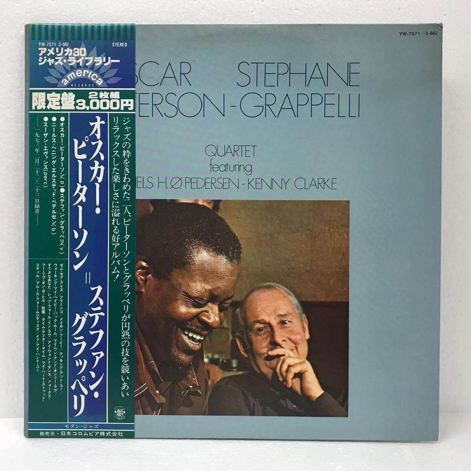 OSCAR PETERSON STEPHANE GRAPPELLI QUARTET OSCAR PETERSON 画像