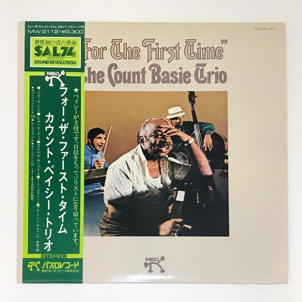 FOR THE FIRST TIME/COUNT BASIE COUNT BASIE 画像