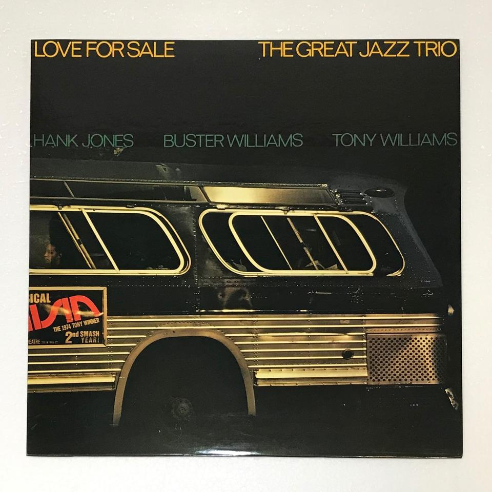 LOVE FOR SALE/THE GREAT JAZZ TRIO THE GREAT JAZZ TRIO 画像
