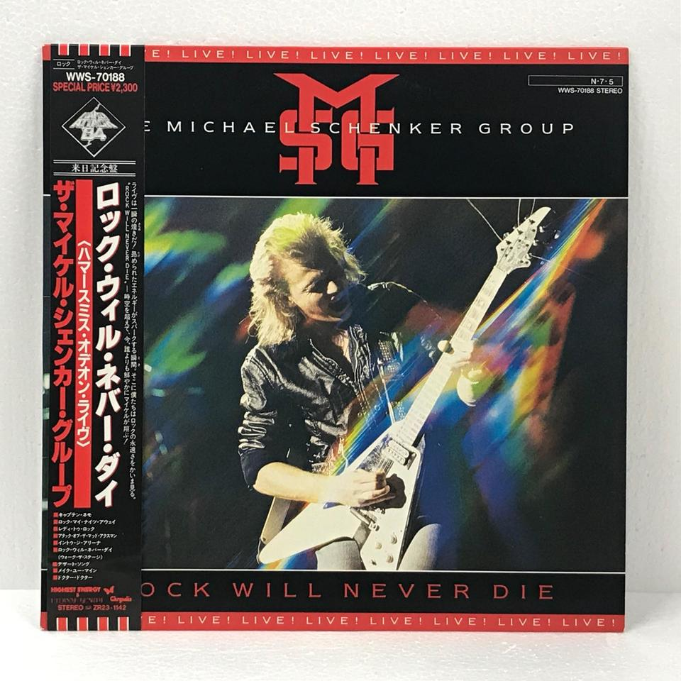 ROCK WILL NEVER DIE/THE MICHAEL SCHENKER GROUP MICHAEL SCHENKER GROUP 画像