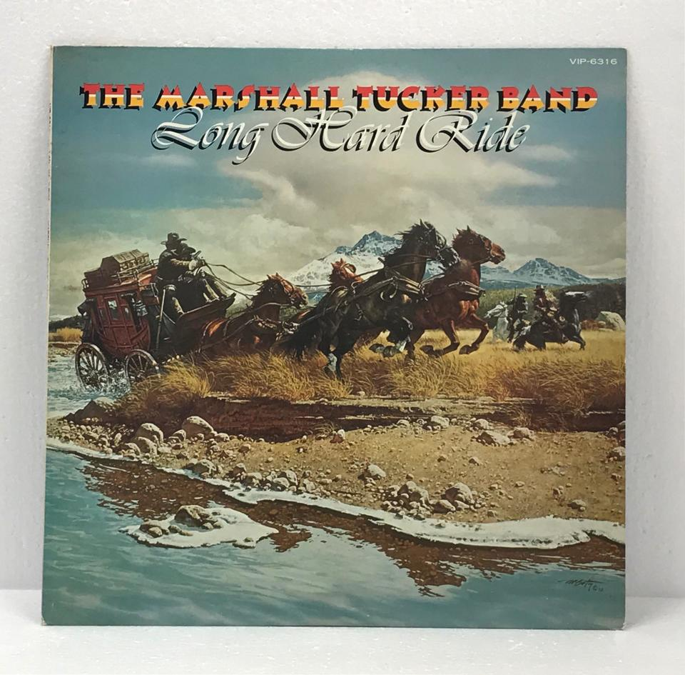 LONG HARD RIDE/THE MARSHALL TUCKER BAND THE MARSHALL TUCKER BAND 画像