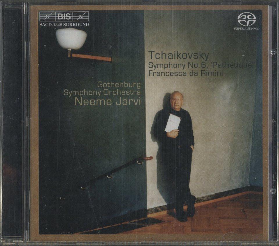 チャイコフスキー:交響曲第6番、幻想曲「フランチェスカ・ダ・リミニ」 チャイコフスキー 画像
