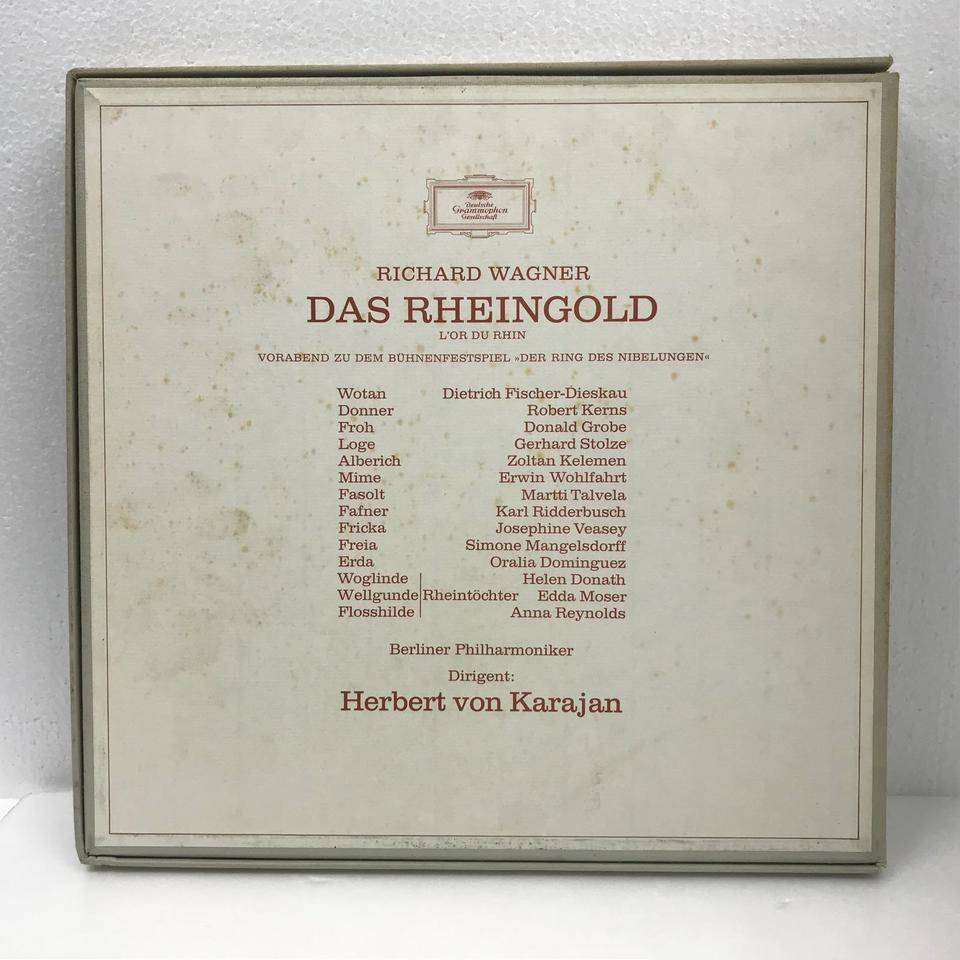 ワーグナー:楽劇「ラインの黄金」全曲 ワーグナー 画像
