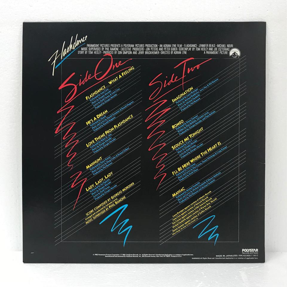 ORIGINAL SOUNDTRACK FROM THE MOTION PICTURE FLASHDANCE O.S.T. 画像