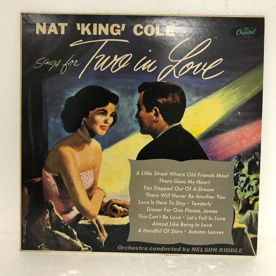 TWO IN LOVE/NAT KING COLE NAT KING COLE(vo) 画像