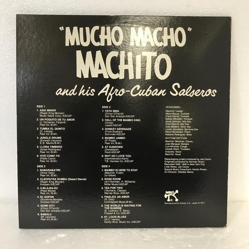 """MUCHO MACHO""/MACHITO/AFRO-CUBAN SALSEROS MACHITO 画像"