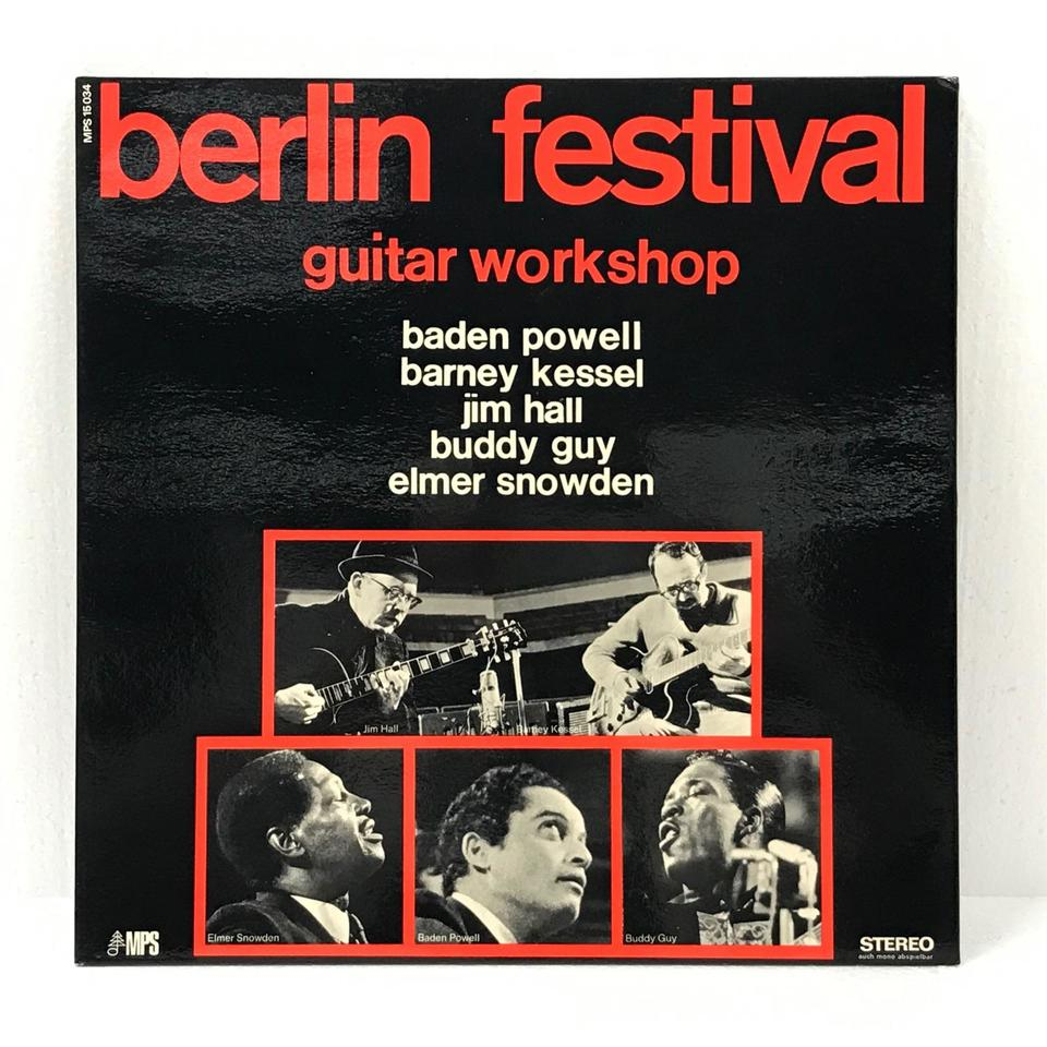 BERLIN FESTIVAL GUITAR WORKSHOP  画像
