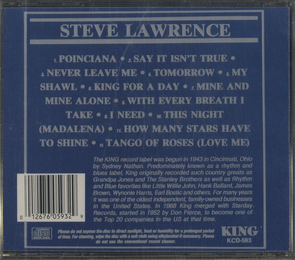 STEVE LAWRENCE STEVE LAWRENCE 画像