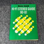 HI-FI STEREO GUIDE VOL.13 '80-'81
