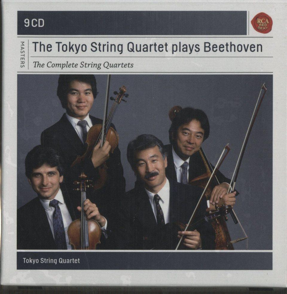 東京クヮルテット・プレイズ・ベートーヴェン ベートーヴェン 画像