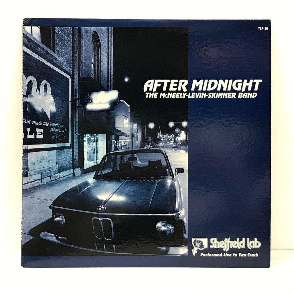 AFTER MIDNIGHT/THE MCNEELY-LEVIN-SKINNER BAND THE MCNEELY-LEVIN-SKINNER BAND 画像