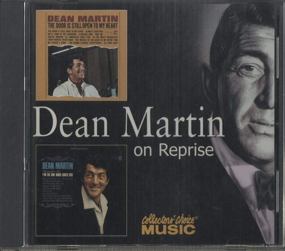 THE DOOR IS STILL OPEN TO MY HEART・ (REMEMBER ME) I'M THE ONE WHO LOVES YOU/DEAN MARTIN DEAN MARTIN 画像