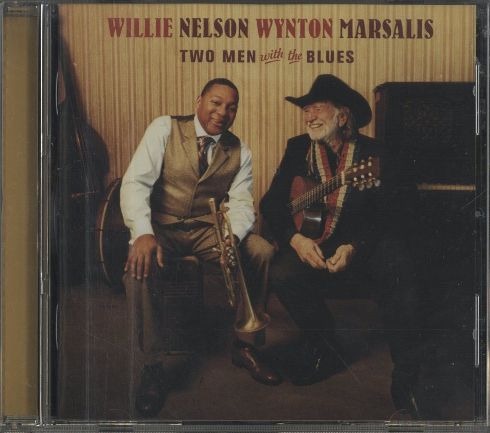TWO MEN WITH THE BLUES/WILLIE NELSON & WYNTON MARSALIS WILLIE NELSON & WYNTON MARSALIS 画像
