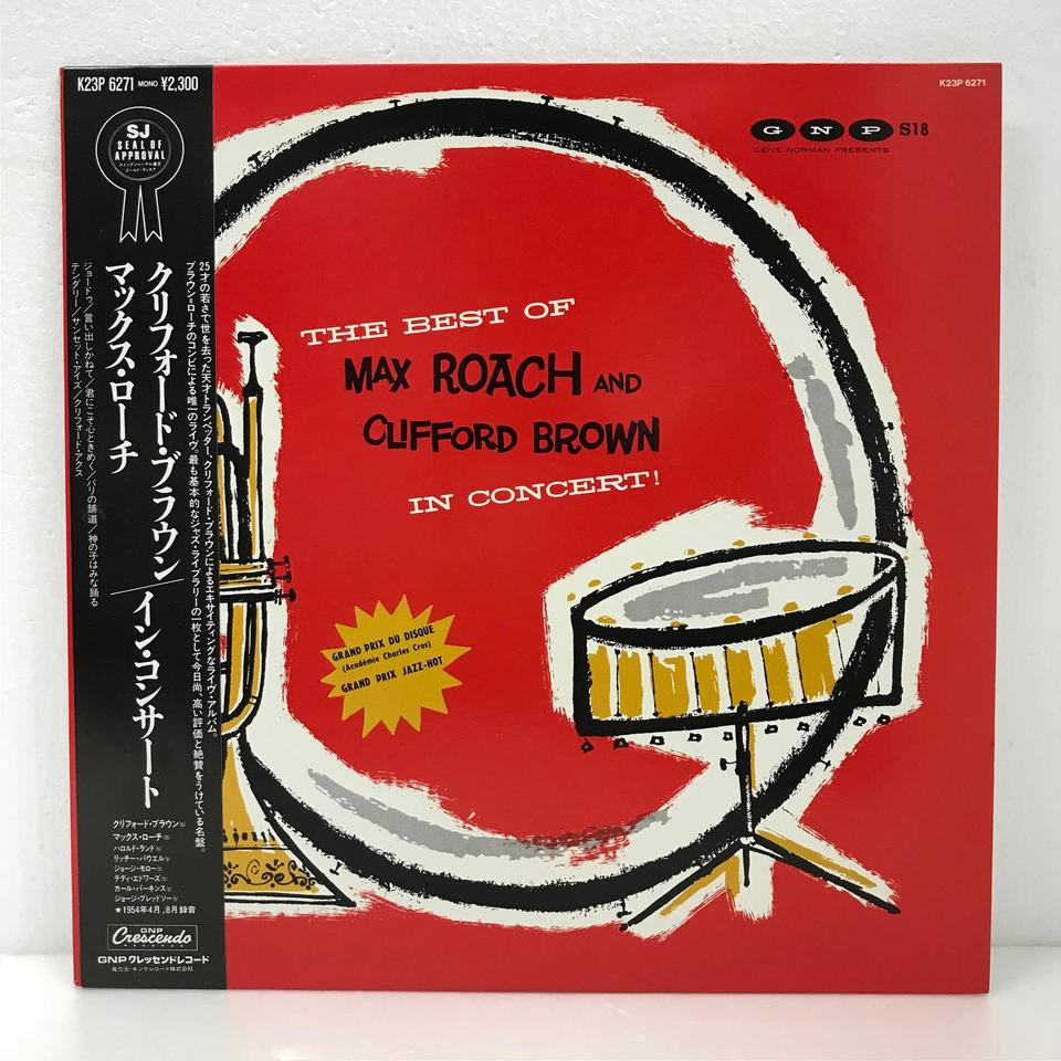 MAX ROACH & CLIFFORD BROWN IN CONCERT! CLIFFORD BROWN(tp) 画像