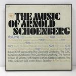 THE MUSIC OF ARNOLD SCHOENBERG VOL.3